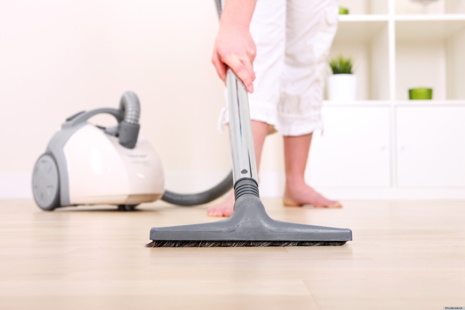 vacuum home with an extra eye to get rid of bed bugs