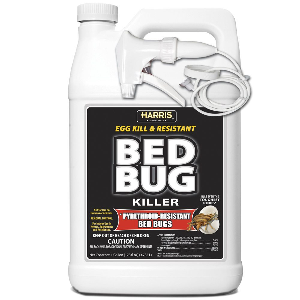 how to kill bed bugs using pyrethroid