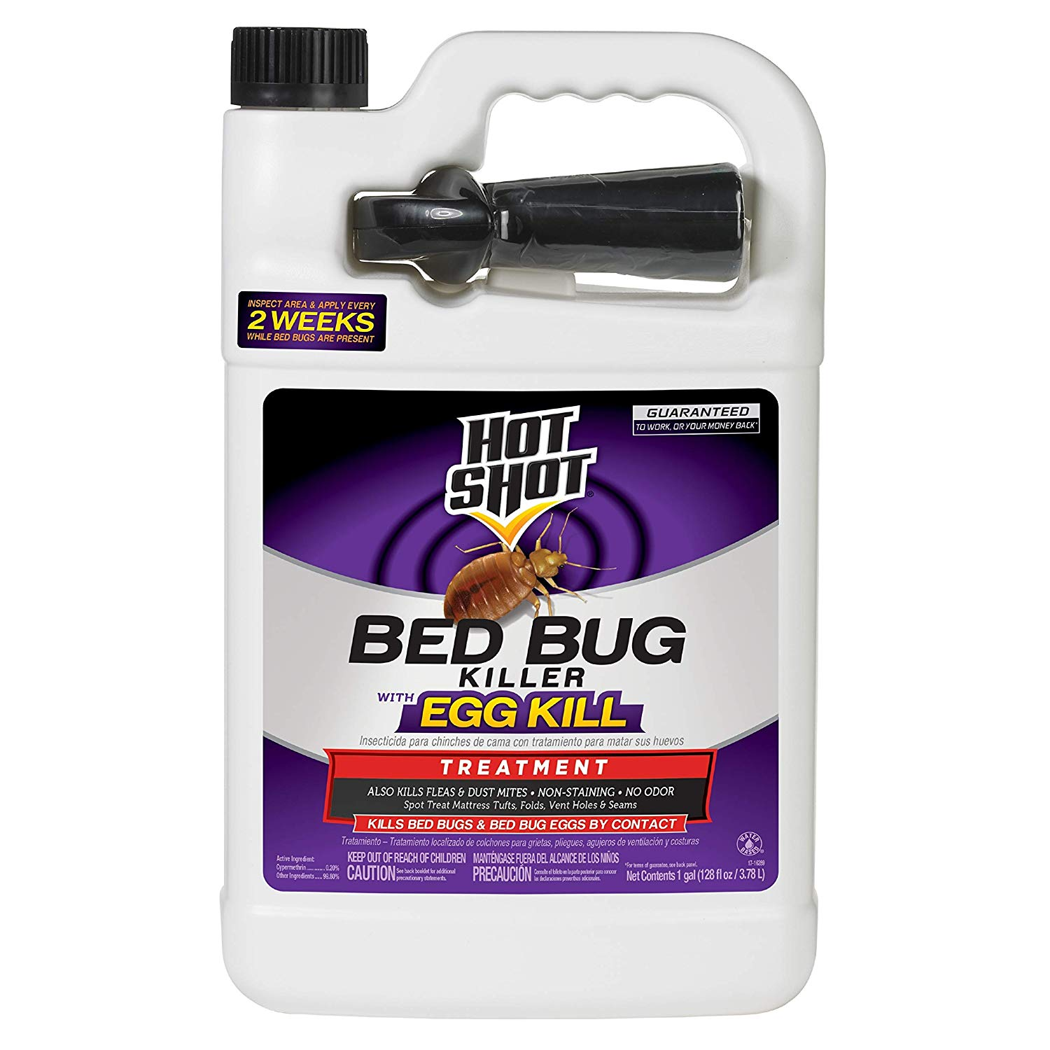 Hot Shot 96442 HG-96442 1 Gallon Ready-to-Use Bed Bug Home Insect Killer, Brown/A