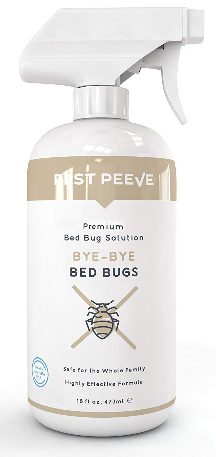 Pest Peeve Bye-Bye Bed Bugs - Powerful Bedbug Spray - Home Defense Treatment - Eco-Friendly and Kind to The Family (16 oz)