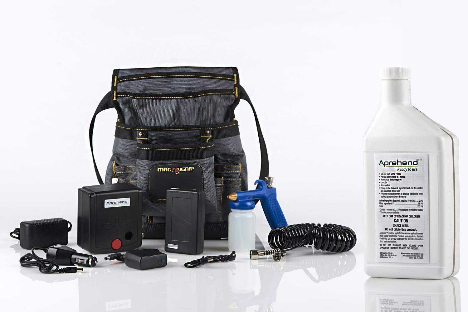 Features Ingredients and How to use Aprehend Low Volume Sprayer Kit for Getting Rid of and Killing Bed Bugs for Good