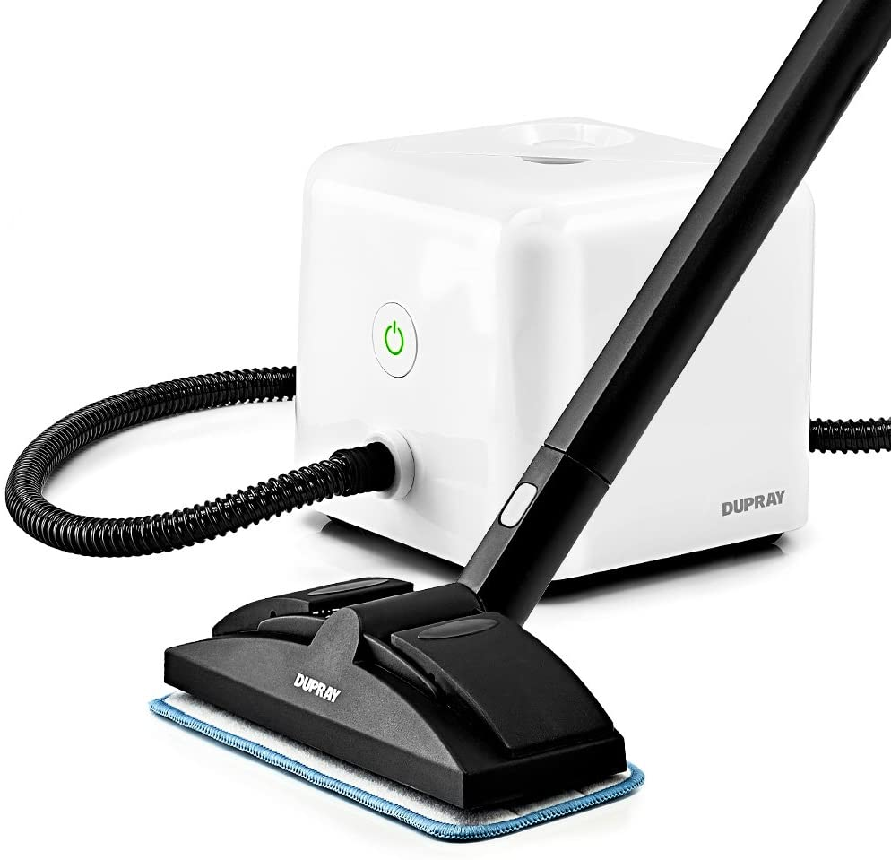 Dupray Neat Steam Cleaner Multipurpose Heavy Duty Steamer for Floors, Cars, Home Use and More